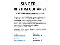 SINGER WANTED !!! Hard Rock / Metal band