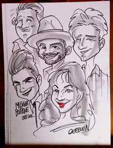caricature  show