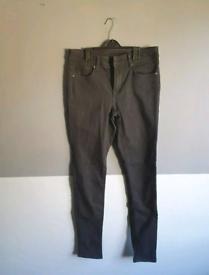 womens black clothes bundle x6 jeans dress vest top uk 12 eu 38