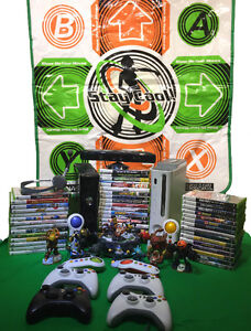 Xbox 360 Kinect with 45 games and accesories