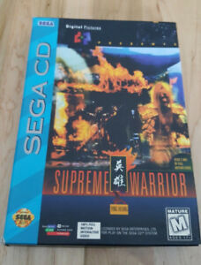 Supreme Warrior Sega CD 2 Disc