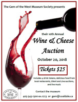 10th annual Wine and Cheese Auction