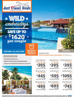 Cuba Vacations Save up to $1620 per couple at Grand Memories Var