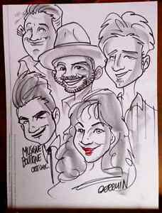 the wedding caricature art  West Island Greater Montréal image 7