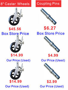 Scaffold Sales, save you money compared to Boxstore (6030 50 St)