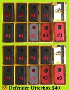 Samsung S9 Otter Box ($40 Defender - $35 Symmetry)