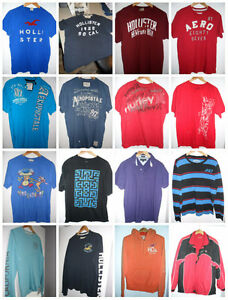 Hollister, American Eagle Young Mens T Shirts, Hoodies & Jackets