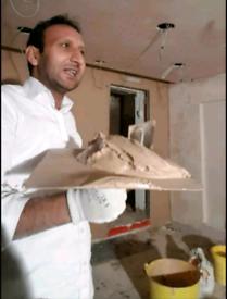 Professional plastering Malik Zahid