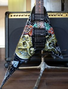 Jackson Rhoads Professional '92 Custom Deadhead w/Luthier Setup