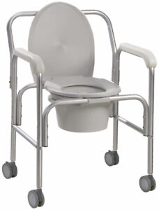 Commode on Wheels