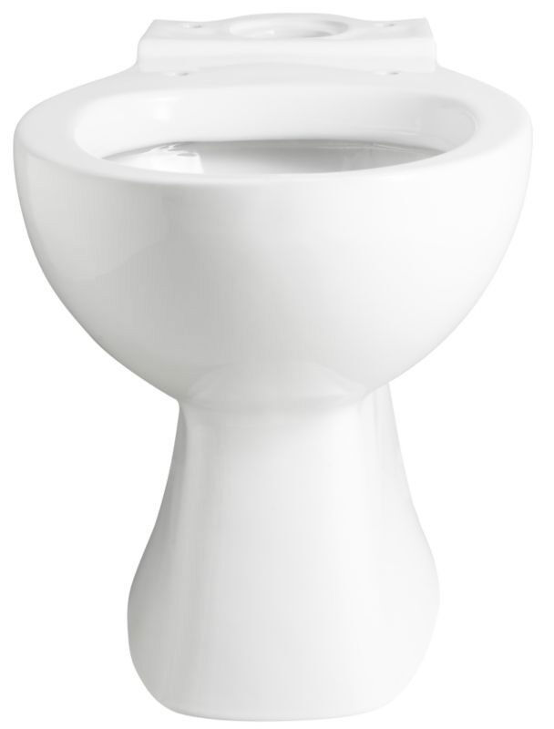 B Q Barcelona White Close Coupled Pan Toilet Seat Brand New
