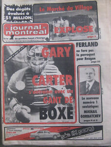 Old Newspapers - Anciens journaux 1980, 1984 et 1985 Gatineau Ottawa / Gatineau Area image 2
