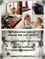 MARIAGES 2016: Maquillage, Coiffure, Pose d'ongles & Ext. de cil