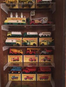 Collectionneur de vieux jouets, vintage toys, diecast