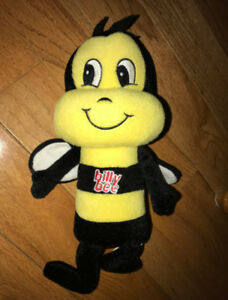 Billy Bee Honey Mascot Bumblebee Plush Doll 12 Inches