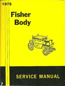 Manuel d`entretien Body By Fisher