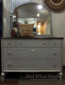 Pewter Dresser by Red Wind Studio