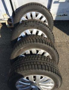 Pirelli Ice Control Tire & Rims - 215/55/16