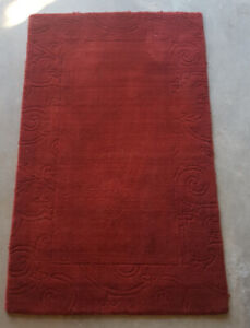 Carpet Red 60 inches x 37 inches $20 OBO