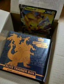 Pokémon Cards Elite Trainer Box Pikachu