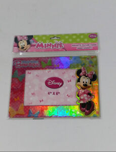 Disney Minnie Mouse Bow-Tique Magnetic Photo Frame Holographic