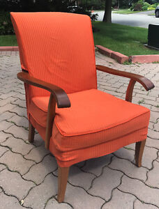 Parker Knoll mid century highback chair vintage