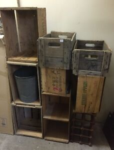 Several Different Crates