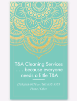 T & A Cleaning Services