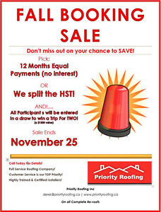 Why Priority Roofing?  Here Is Our Promise To You... Cambridge Kitchener Area image 2