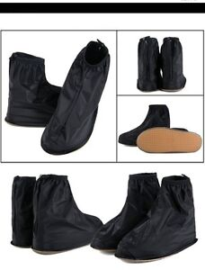 Waterproof Rain Shoe-Cover, (Adult) Medium-Med/Lrg Size,  New