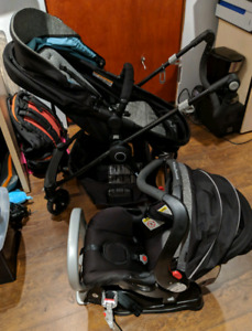 Excellent condition car seat/stroller set