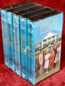 Dallas The Collectors Edition Complete Series on VHS(SEALED)