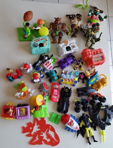 Classic 90s McDonalds Happy Meal, Burger King Toys