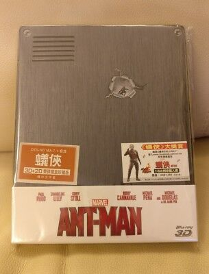 Antman HK Bluray Steelbook, New/Sealed