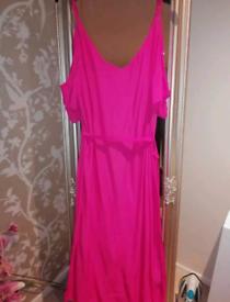 New look ladies pink dress