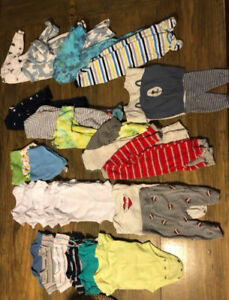 Newborn Baby Clothes Lot  (BOY)