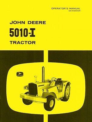 John Deere 5010 - I Tractor Operators Manual Jd