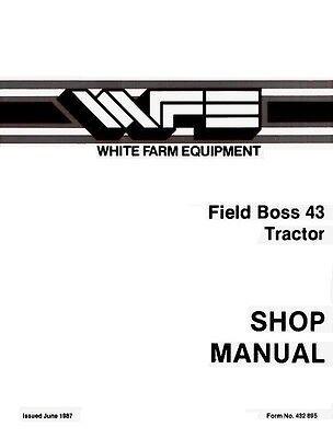 White Field Boss 43 Tractor Service Manual