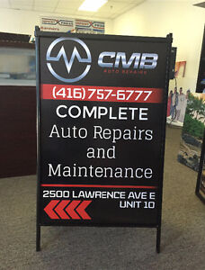 Roll up Banner, Store Front Signs, Coroplast, printing service .