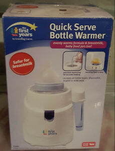 The First Years Quick Serve Bottle Warmer