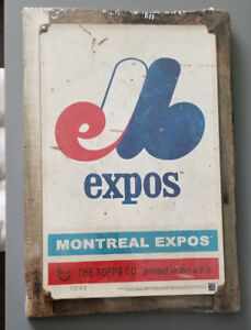 1969 Montreal Expos Vintage Sign by Topps #13/49