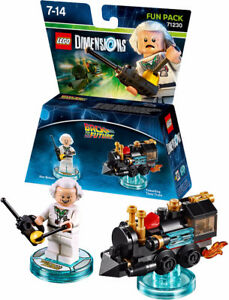 Lego Dimensions Back to the futur