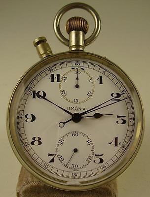 Antiker seltener LEMANIA Schleppzeigerchronograph vor 1945