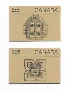 Stamps Canada 1987 50¢ Parliament Booklets BK92b Harrison Paper