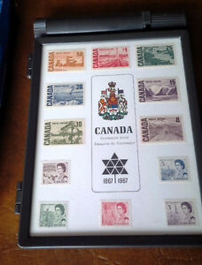 Stamps 1867-1967 Centennial of Cdn Confederation Kitchener / Waterloo Kitchener Area image 2