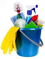 ANY EVENING-- ANY WEEKEND-- CLEANING
