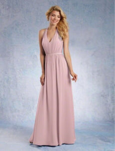 Alfred Angelo formal dress in dusty pink