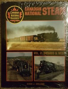 Canadian National Steam in Color Vol. 2: Ontario & West