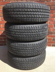 Tires: 205 65 R15: 4 Futura 2000 LTE 205 65 R15