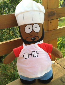 "SOUTH PARK CHEF 12"" PLUSH TOY DOLL FIGURE NANCO MWT Gatineau Ottawa / Gatineau Area image 9"